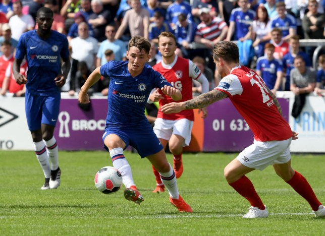 Billy Gilmour has impressed Chelsea manager Frank Lampard