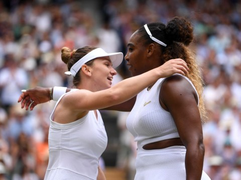 Simona Halep thanks Roger Federer for advice before beating Serena Williams in Wimbledon final
