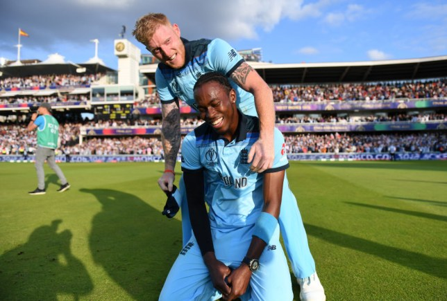 Jofra Archer has been included in England's World Cup Ashes squad