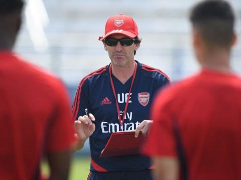 Unai Emery urged Arsenal to improve Kieran Tierney transfer bid