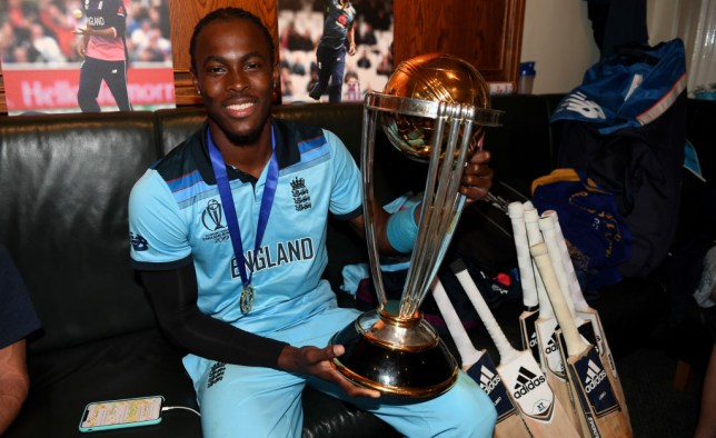 Jofra Archer was England's leading wicket taker at the World Cup