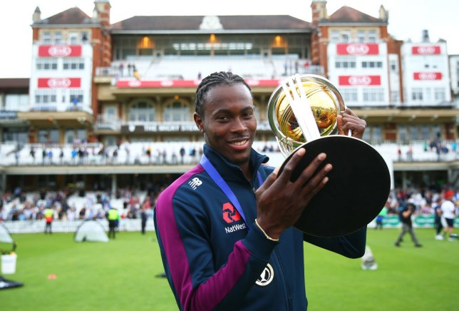 Jofra Archer was an integral figure in England's World Cup-winning squad