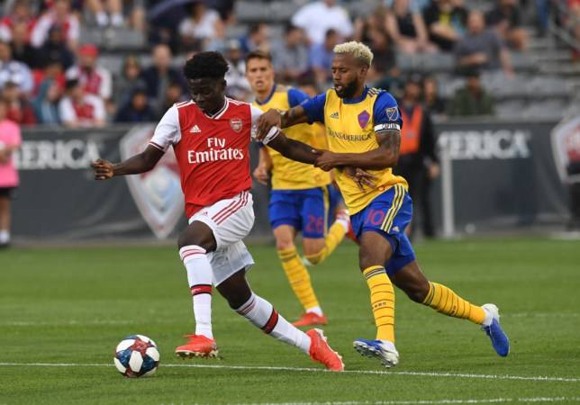 Bukayo Saka claims Arsenal's 'special' young players are ready to take on the world after sparkling in pre-season