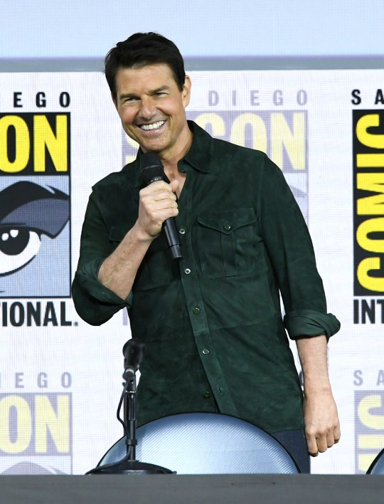 Tom Cruise at Comic Con