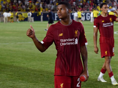 Rhian Brewster backed for Liverpool impact by Jadon Sancho who hails their 'special connection'