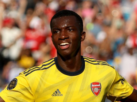 Eddie Nketiah reveals help from Arsenal 'idols' Thierry Henry and Ian Wright