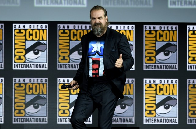 Black Widow's David Harbour