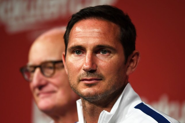 Frank Lampard took over at Chelsea earlier in the month