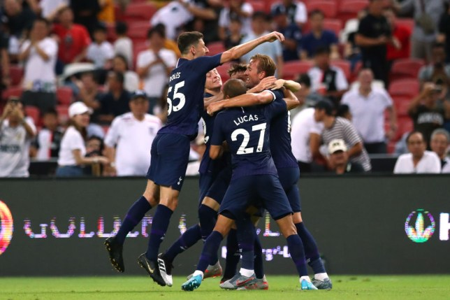 Harry Kane scored a spectacular goal for Spurs against Juventus at the death