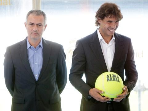 Jose Mourinho sides with Rafael Nadal over Roger Federer on tennis rule change