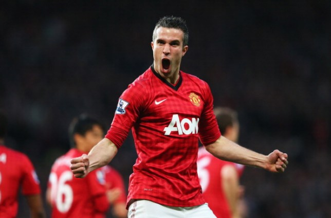 Robin van Persie left Arsenal to sign for Manchester United in the summer or 2012