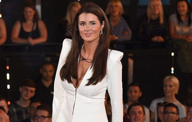 Helen Wood at Big Brother