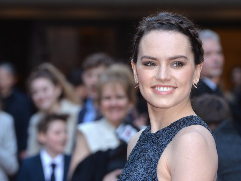 Daisy Ridley says her first days on the Star Wars set were 'horrid'