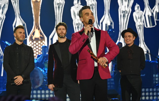 Robbie Williams and Take That