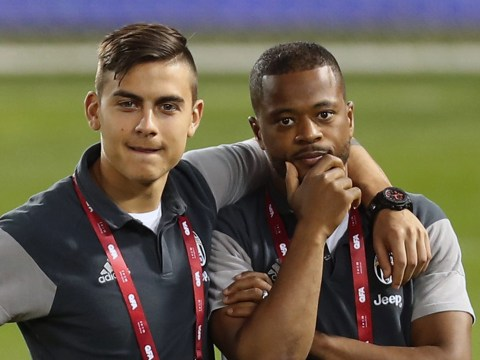 Patrice Evra calls old Juventus teammate Paulo Dybala to convince him to join Manchester United