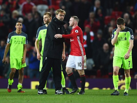 Man Utd legend Wayne Rooney is full of praise for Jurgen Klopp but aims cheeky dig at Liverpool