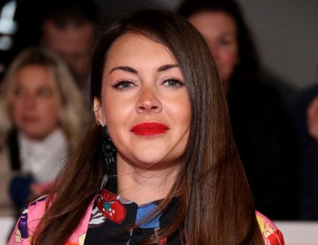Lacey Turner at the National TV Awards 2019