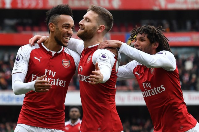 Aubameyang reacts to prospect of Arsenal finally selling Shkodran Mustafi