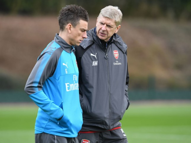 Arsene Wenger claims Laurent Koscielny did not give him a problem at Arsenal