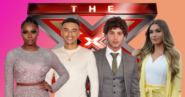 Love Island supergroup on Celebrity X Factor