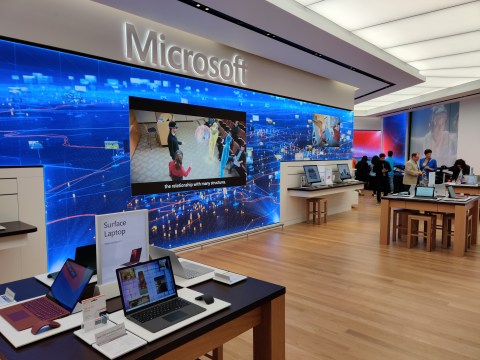 Microsoft is opening a flagship London store – just up the road from Apple