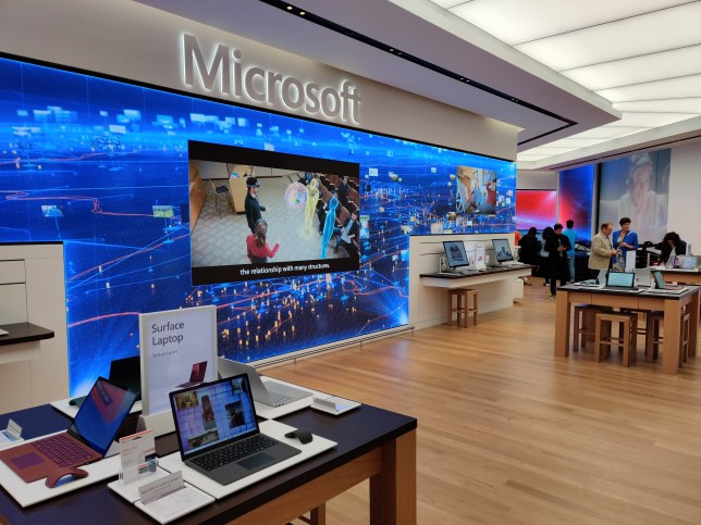 Microsoft is opening a London store – just up the road from Apple