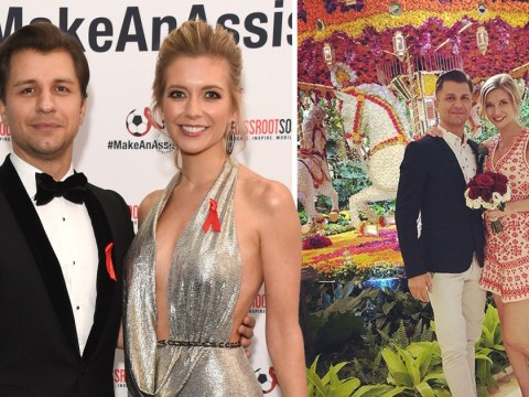 Rachel Riley and Pasha Kovalev secretly marry in Las Vegas weeks after announcing pregnancy