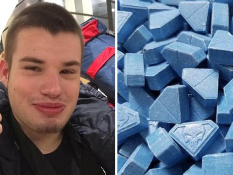 Boy, 19, found dead after taking treble-strength ecstasy tablet