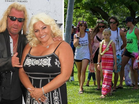 Dog The Bounty Hunter scatters wife Beth Chapman's ashes in Hawaii during private paddle-out