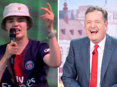 Piers Morgan fanboys over Alex from Glastonbury after he 'slides into DMs' following Thiago Silva performance