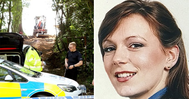 Police dig in field in Worcestershire looking for remains of missing estate agent Suzy Lamplugh
