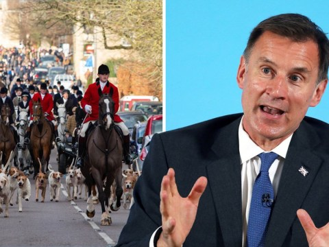 Jeremy Hunt wants to bring back 'barbaric' fox hunting