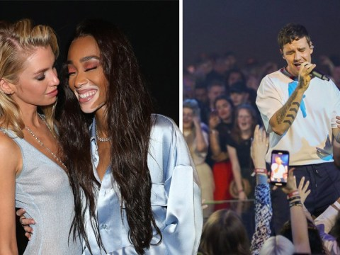 Stella Maxwell and Winnie Harlow bring the glamour at Liam Payne's Hugo collection launch