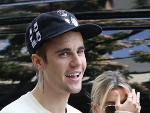 Justin Bieber and Hailey Baldwin unfazed after plonking themselves in middle of Taylor Swift and Scooter Braun beef