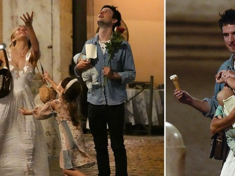 Sienna Miller and Tom Sturridge are the ultimate co-parents during sweet family trip in Rome