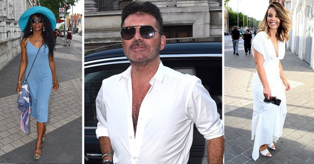 Simon Cowell party