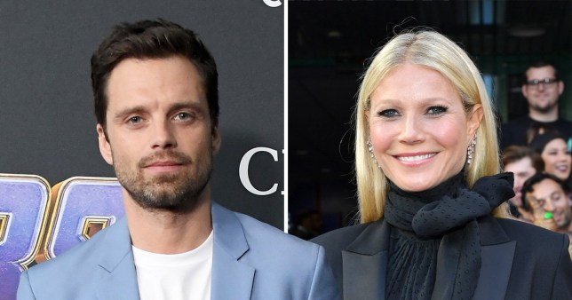 Sebastian Stan and Gwyneth Paltrow