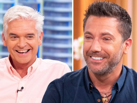 Gino D'Acampo supports 'King Of TV' Phillip Schofield after Amanda Holden drama