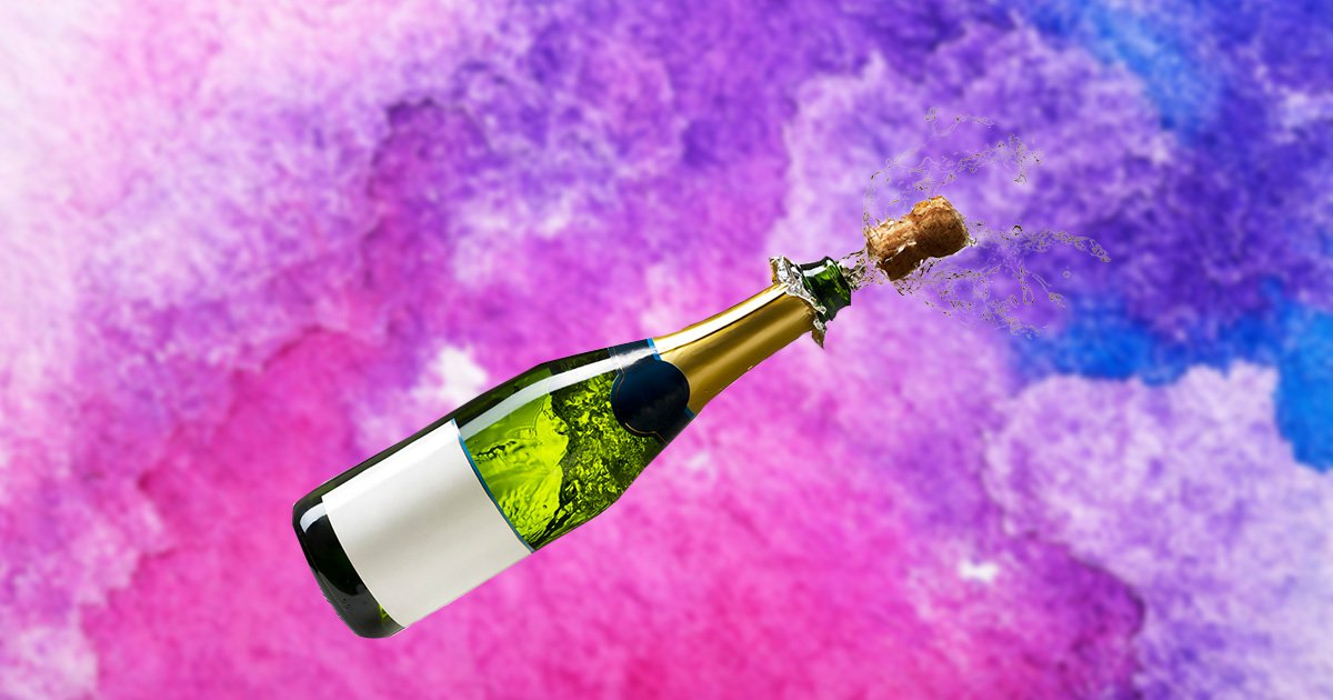 How do we scrupulously open champagne but creation a large mess?