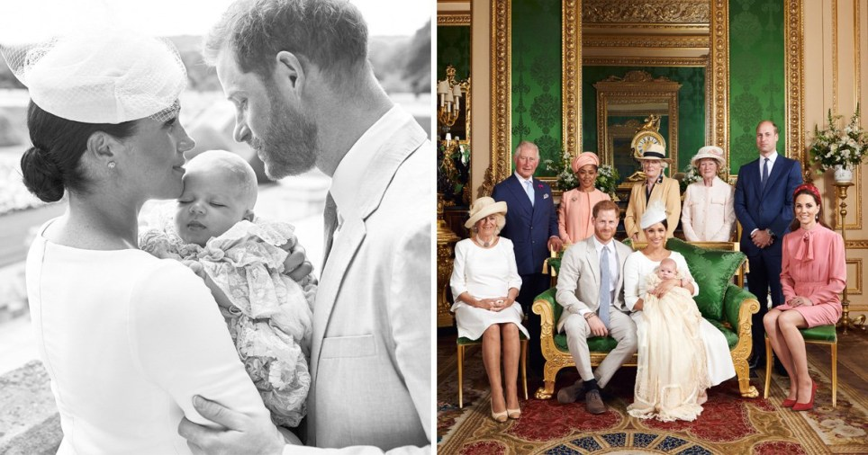 Meghan Markle and Prince Harry have shared the first pictures of their son, Archie Harrison Mountbatten-Windsor