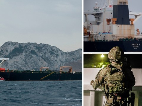 British oil tanker goes 'dead in the water' 40 miles from Iran