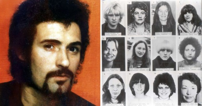 Peter Sutcliffe, 73, became known as the Yorkshire Ripper after killing 13 young women