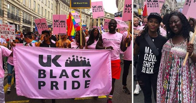 UK Black Pride started in 2005