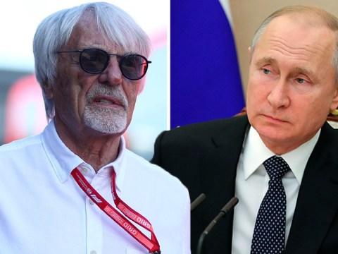 Bernie Ecclestone says he would die for 'good guy dictator' Putin
