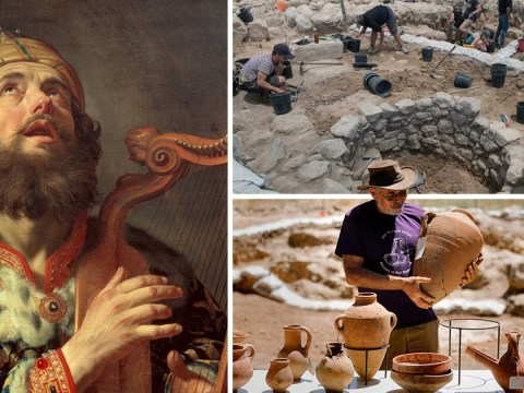 Archaeologists discover the lost city of Ziklag, the refuge of biblical King David