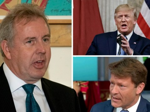 Brexit Party chairman calls for US ambassador to be recalled 'immediately'