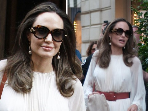 Angelina Jolie may be busiest woman in Hollywood as she pops up in France amid family time and movie shooting
