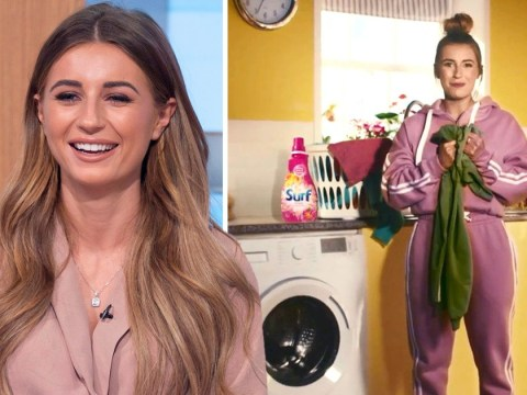 Dani Dyer is 'struggling to maintain her profile' since Love Island as she stars in Surf TV ad