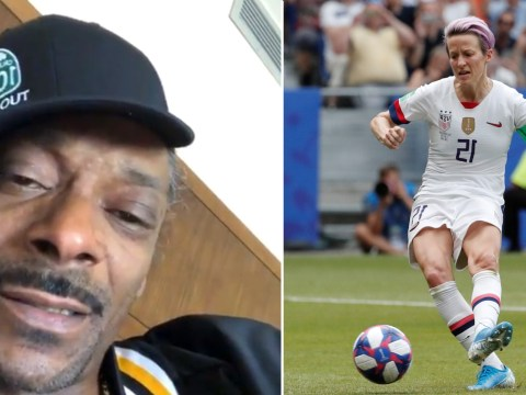 Snoop Dogg demands equal pay for US Women's Soccer Team who 'earns $90,000 compared to 'sorry a**' men's $500,000'