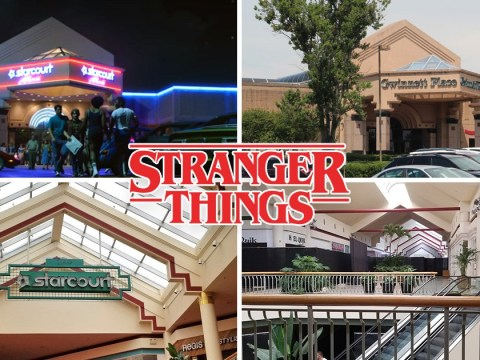 Is Starcourt Mall in Stranger Things a real shopping mall and where is it?